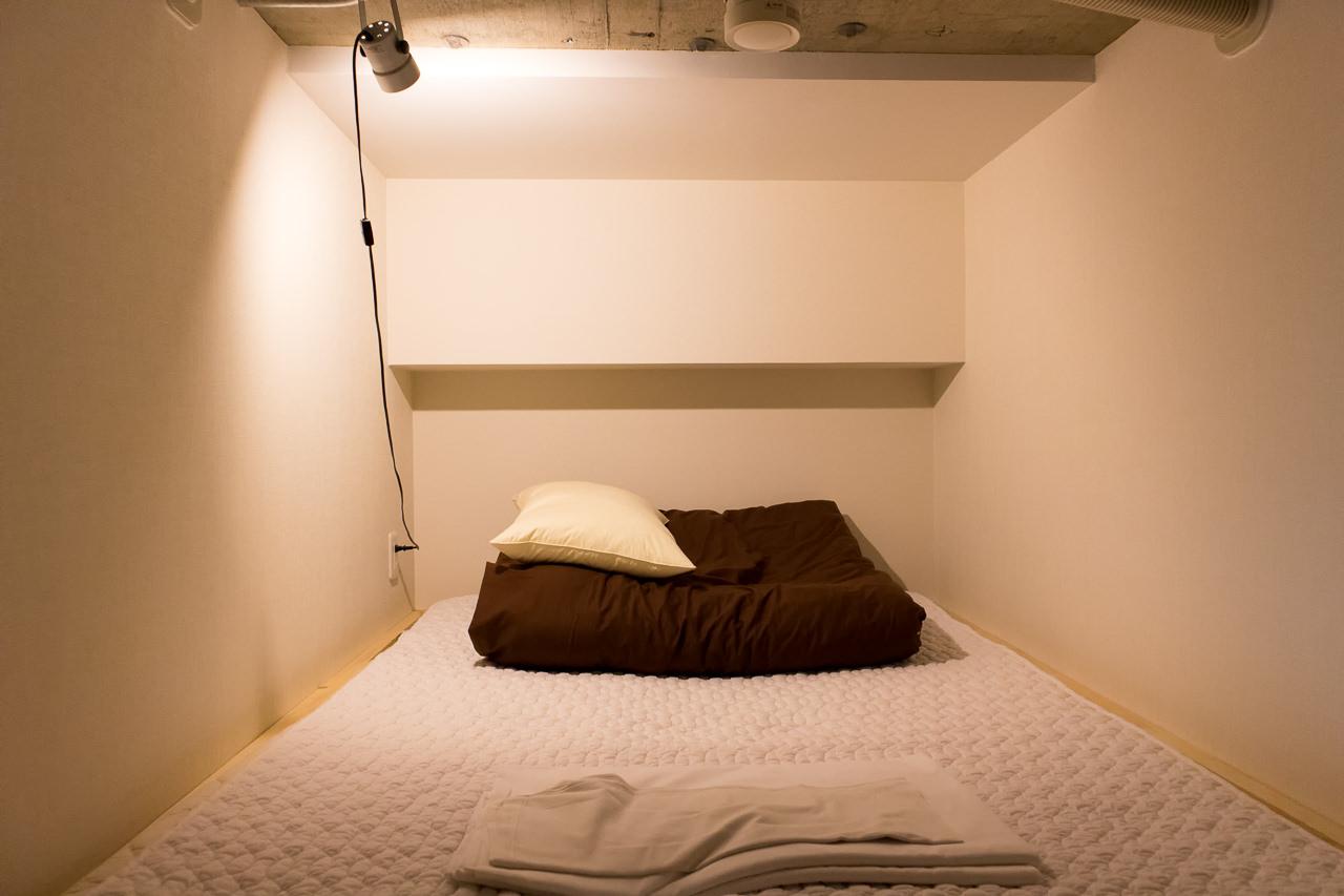 The Stay Sapporoのベッド