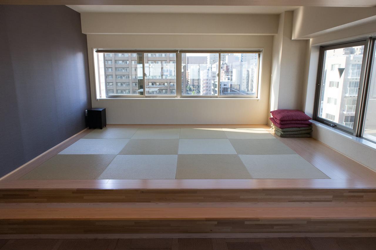 The Stay Sapporoラウンジの畳スペース