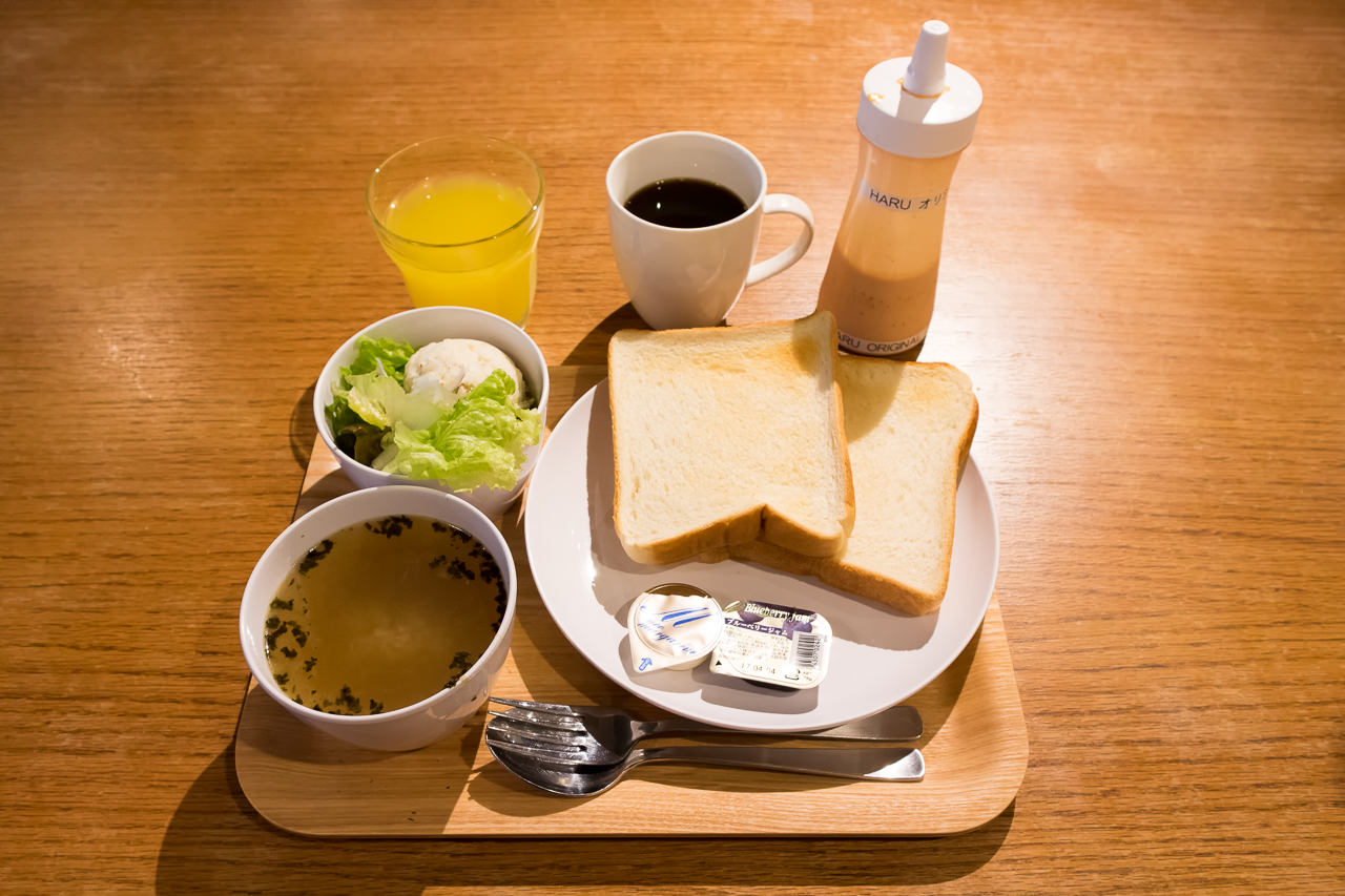 The Stay Sapporoの朝食