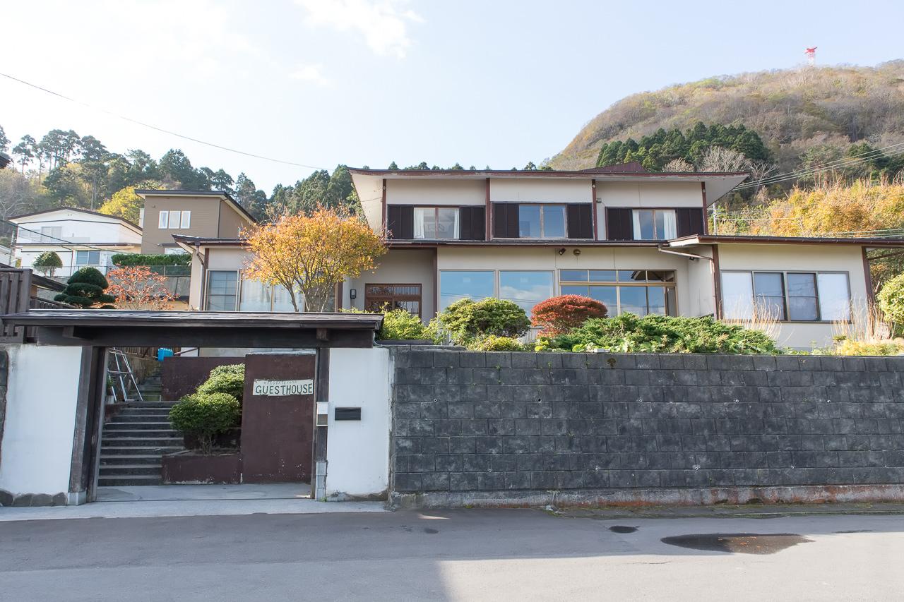 函館山ゲストハウスの外観