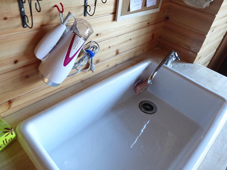 犬山ゲストハウスかわち 洗面台