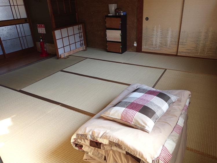 犬山ゲストハウスかわち 寝室