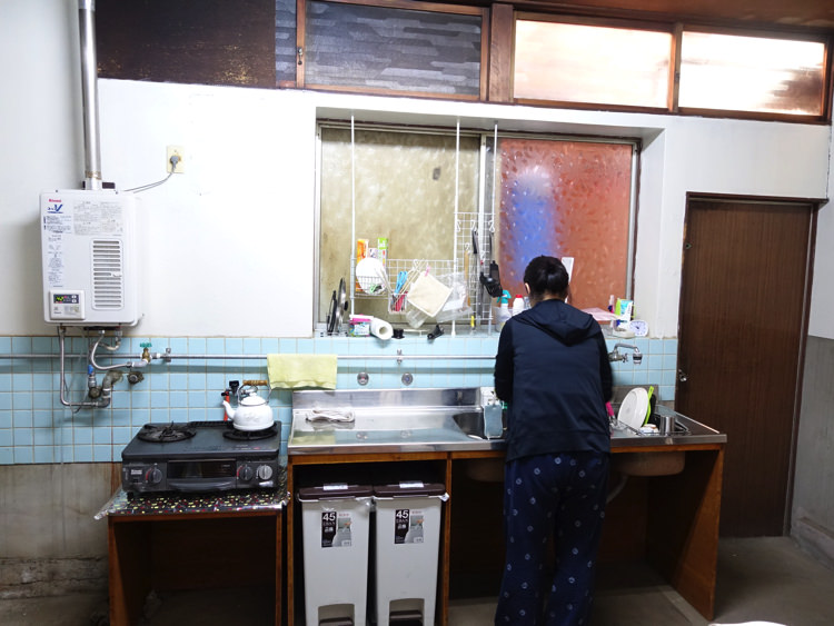 犬山ゲストハウスかわち キッチン