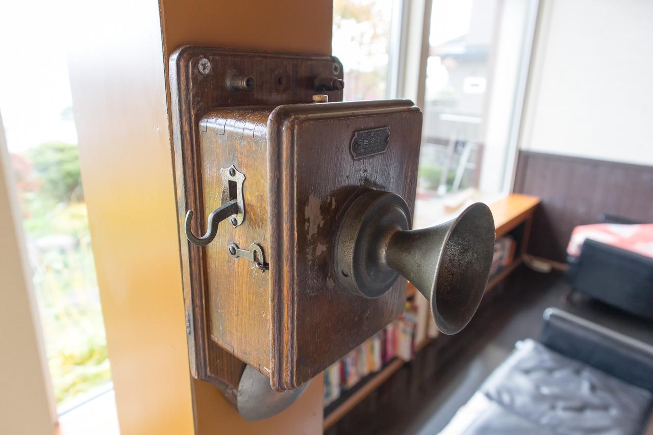 函館山ゲストハウス 電話機