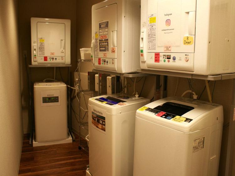 Osaka Guesthouse NESTの洗濯機