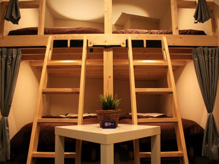 Osaka Guesthouse NESTの宿泊部屋②