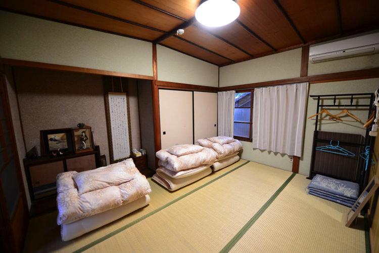 ゲストハウスゲンザの宿泊部屋