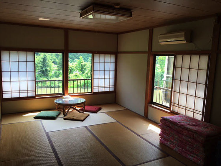 ゲストハウス山楽の宿泊部屋①