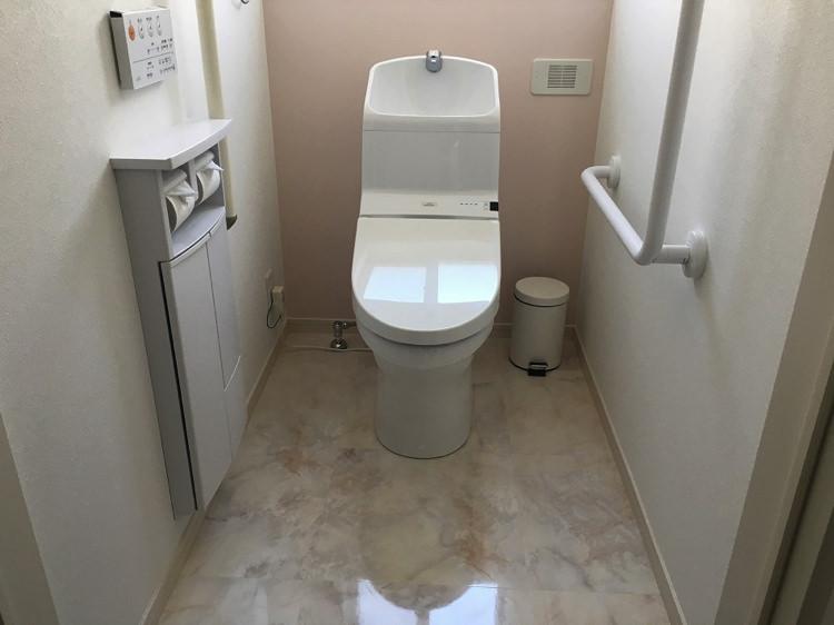 シロノシタゲストハウスのトイレ3