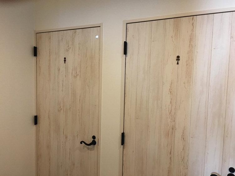 シロノシタゲストハウスのトイレ2