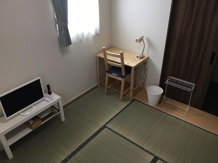 シロノシタゲストハウスの個室(1〜2名様用)1