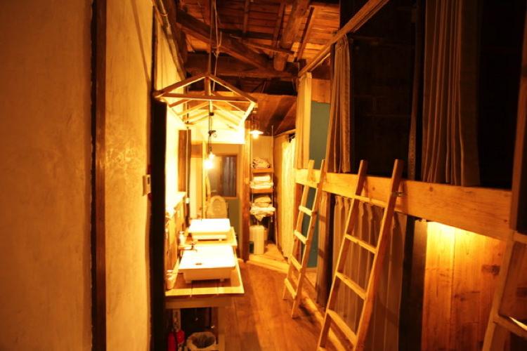 ヒラドゲストハウスコトノハの宿泊部屋