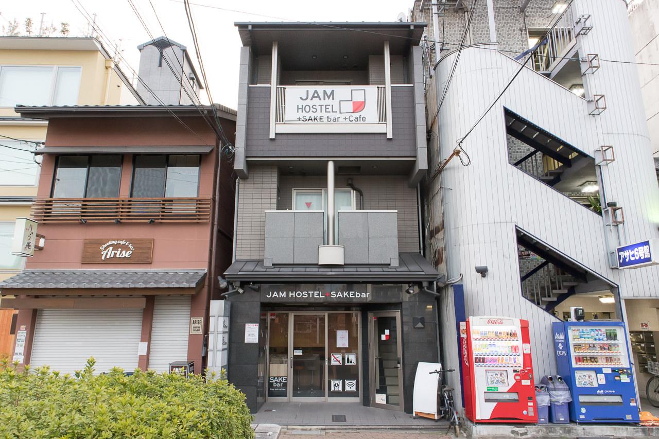JAM ホステル 京都祇園・外観