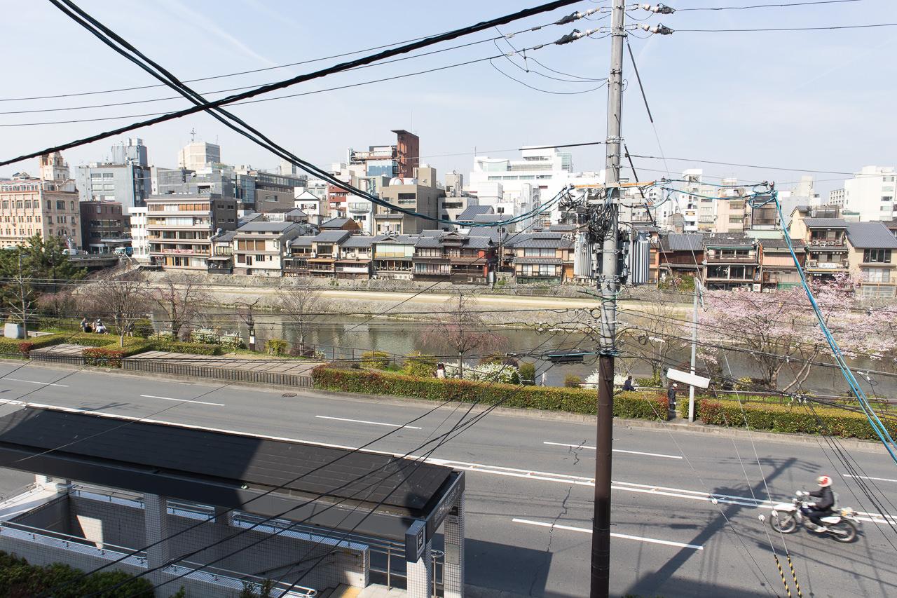 JAM ホステル 京都祇園・ベランダからの眺め