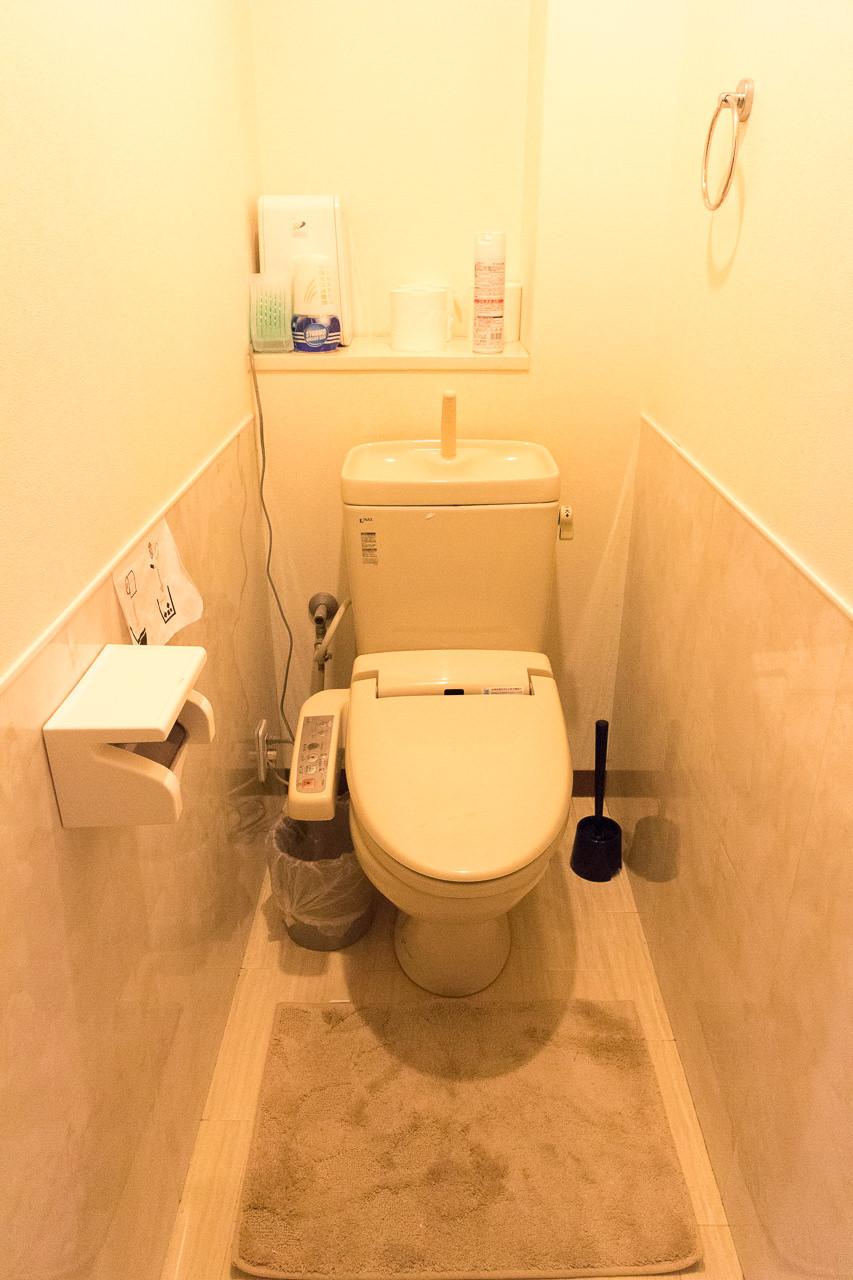 JAM ホステル 京都祇園・トイレ