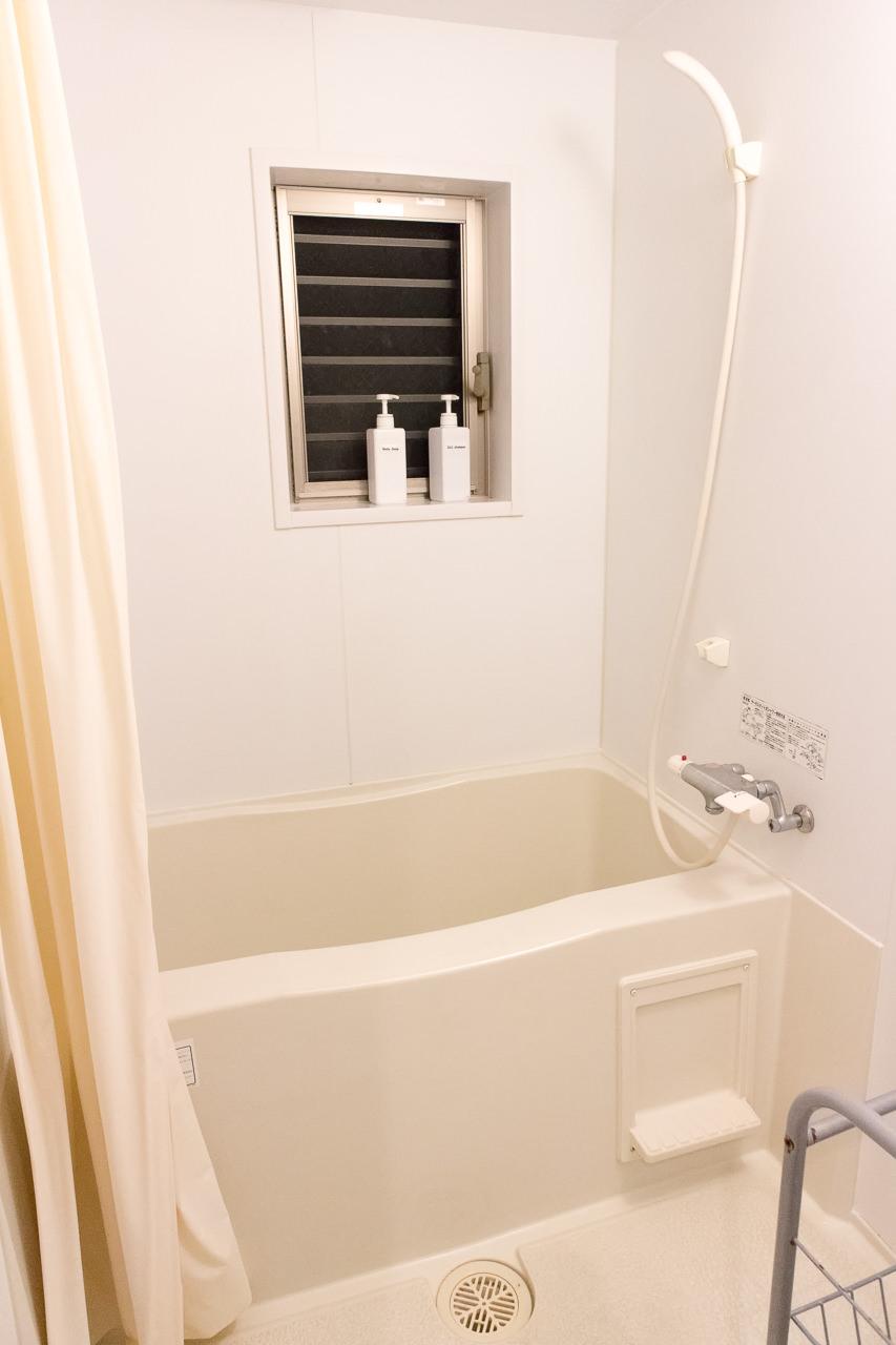 JAM ホステル 京都祇園・浴槽付きシャワールーム