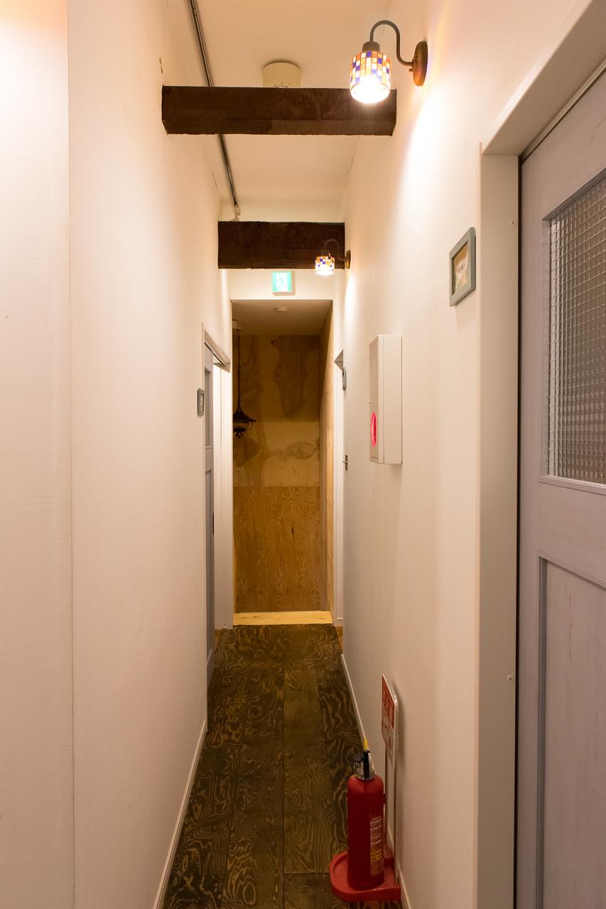 イグルー・2階の廊下
