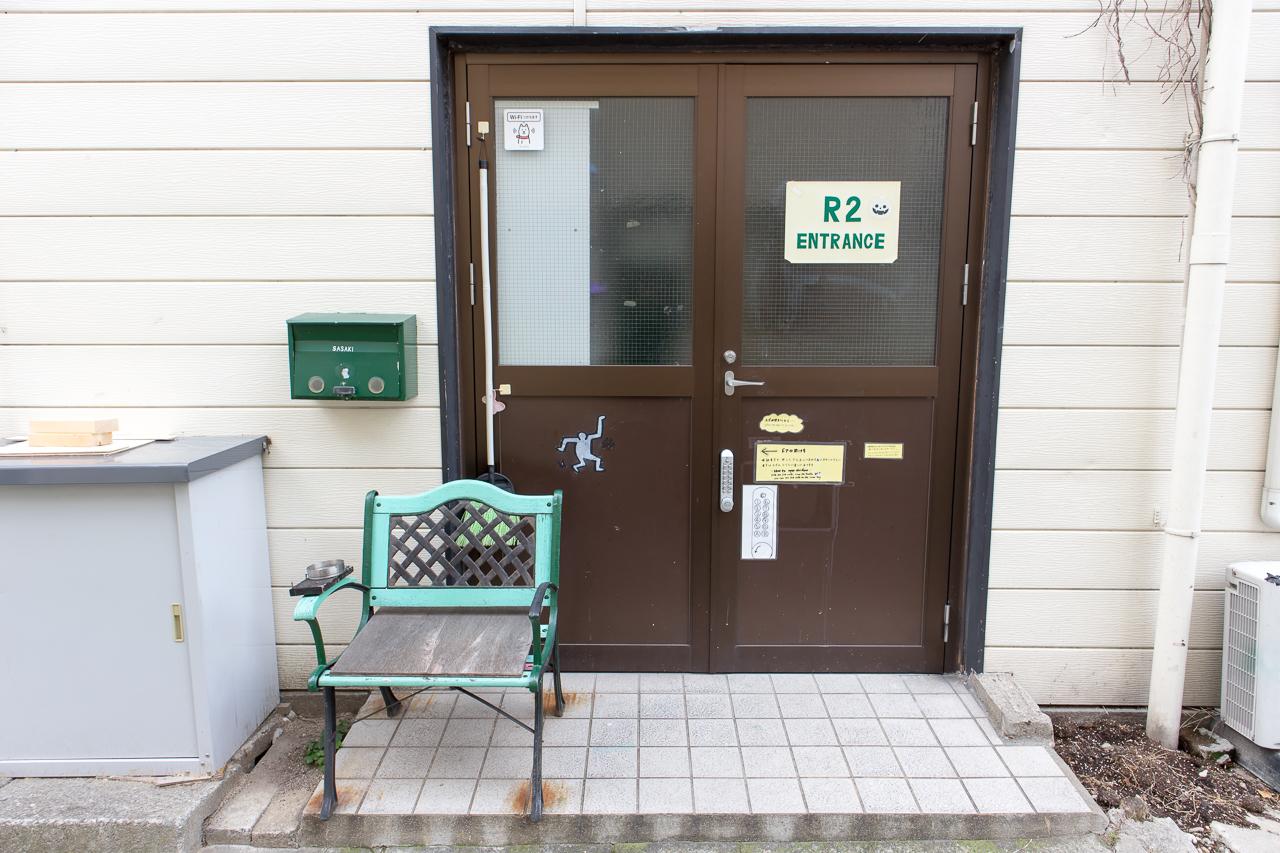 神戸三宮R2ホステル・入口