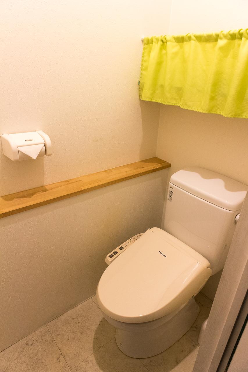 神戸三宮R2ホステル・トイレ