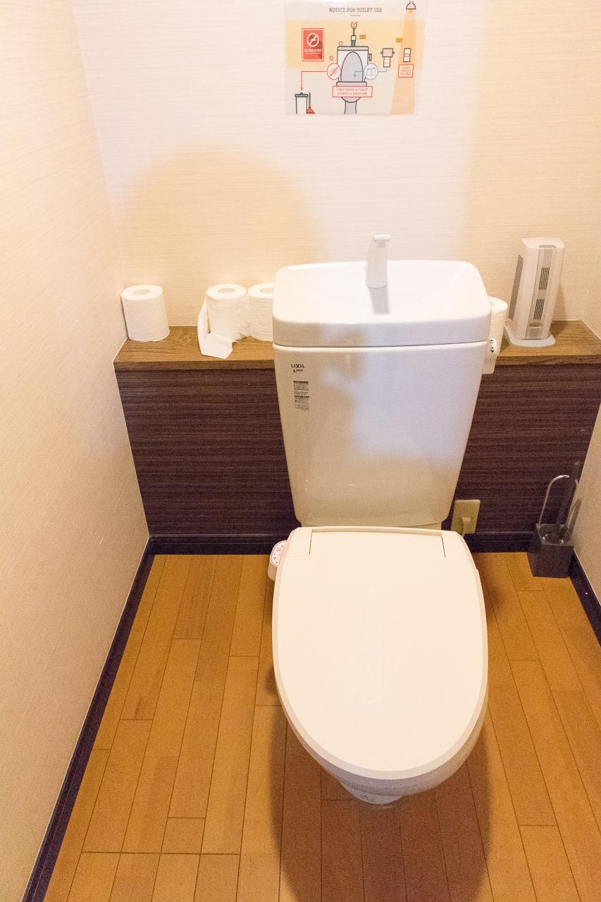 Tokyo-House-Inn・トイレ