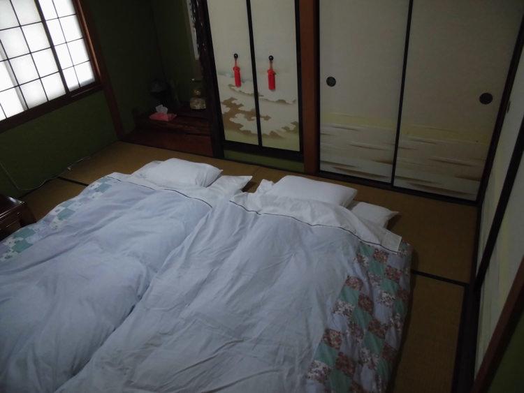 ヤマチャンハウスの宿泊部屋