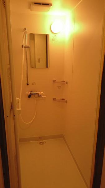 CIRCLE OF LIFEのシャワールーム
