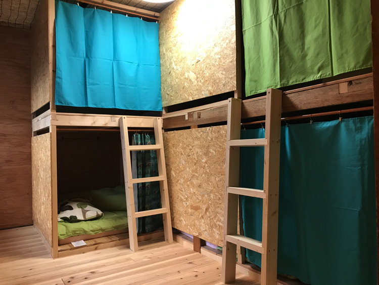 ゲストハウスだるまの宿泊部屋①