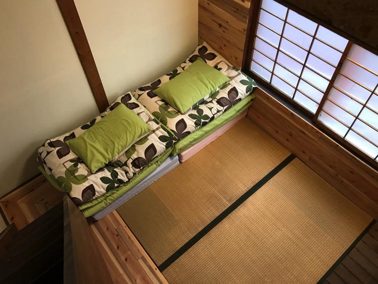 ゲストハウスだるまの宿泊部屋②
