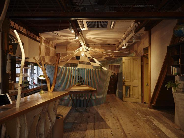 Kobe Guest House MAYA 神戸ゲストハウス萬家の共有スペース