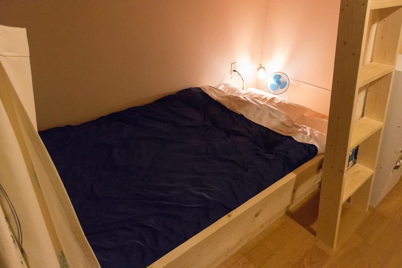 ゲストハウスyuyu・ベッド