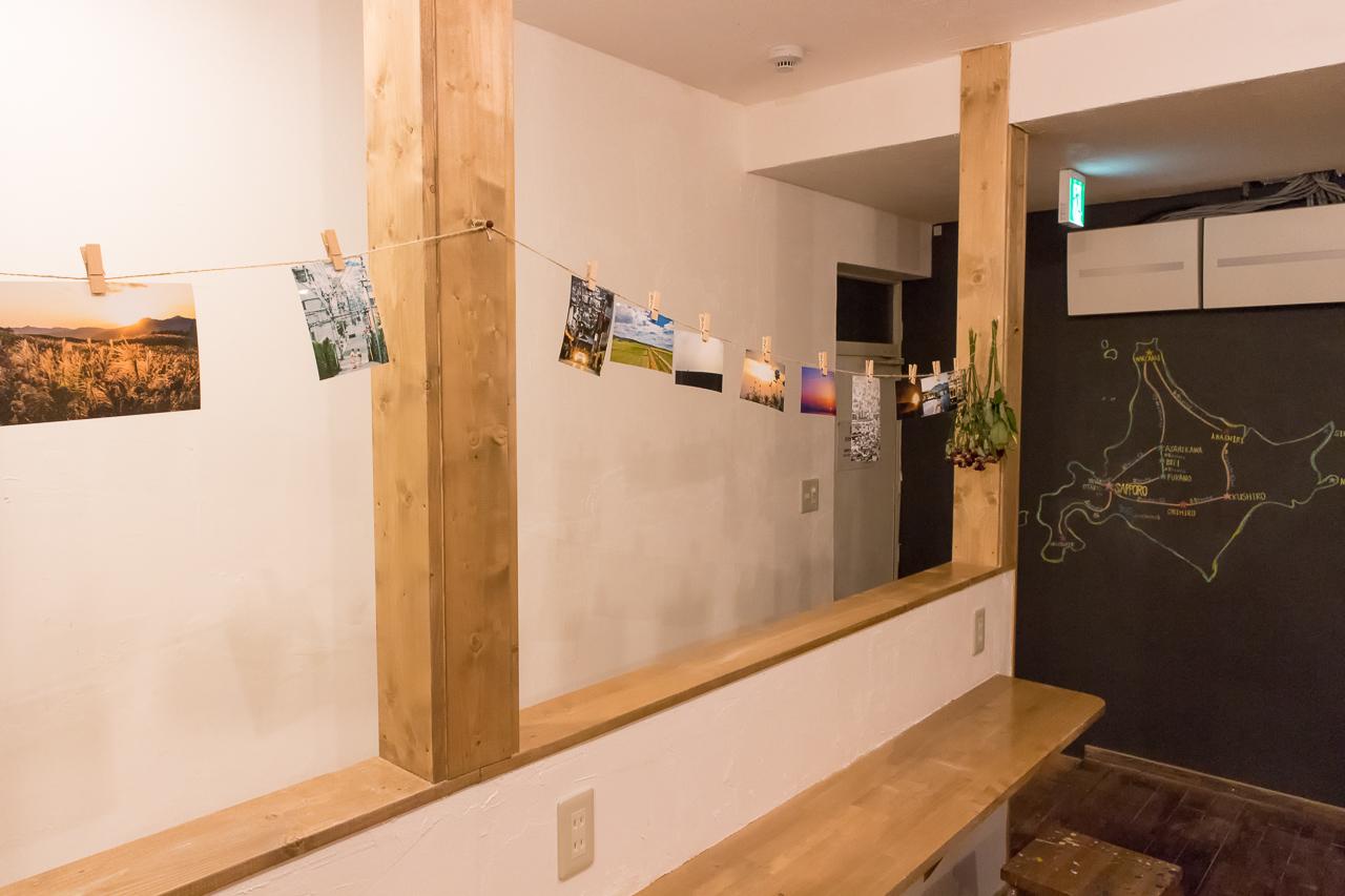 ゲストハウスyuyu・2階リビングルームの北海道の写真