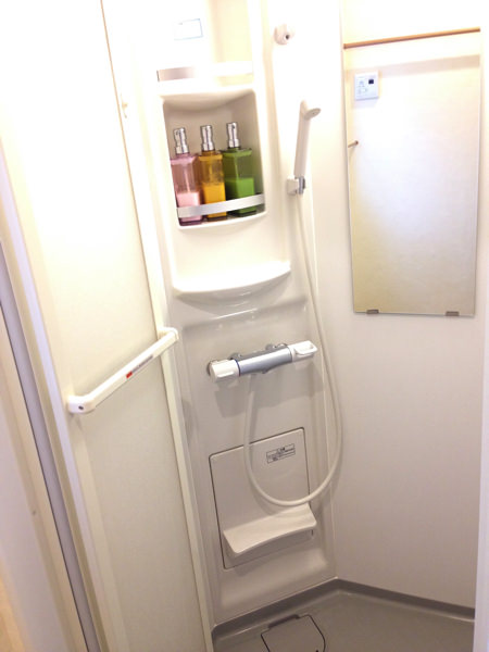 ゲストハウスいったんのシャワールーム