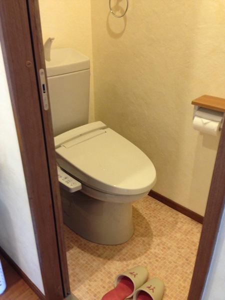 ゲストハウスいったんのトイレ