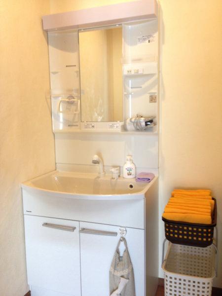 ゲストハウスいったんの洗面所