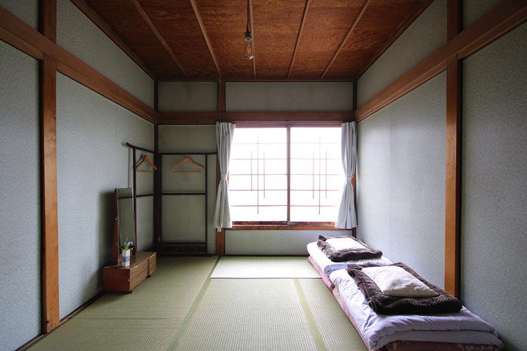 釧路ゲストハウスコケコッコーの宿泊部屋