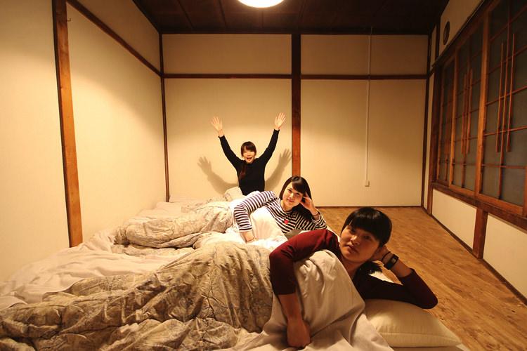 釧路ゲストハウスコケコッコーの宿泊部屋②