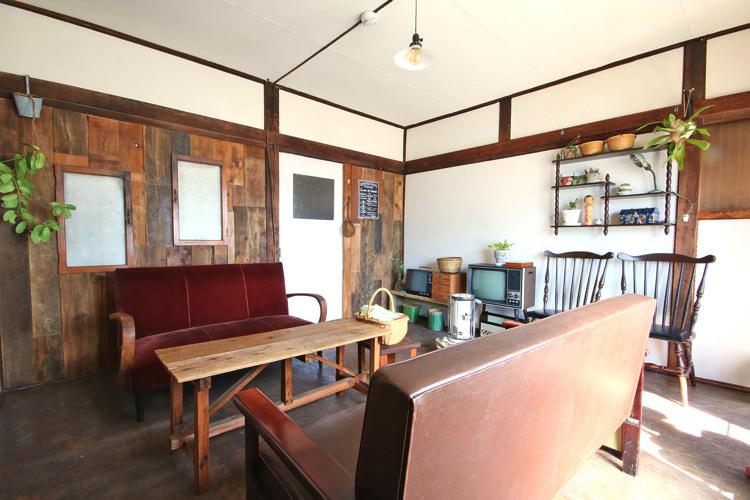 釧路ゲストハウスコケコッコーの共有ルーム