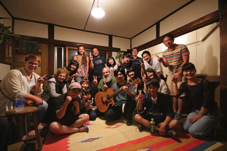 釧路ゲストハウスコケコッコーの集合写真