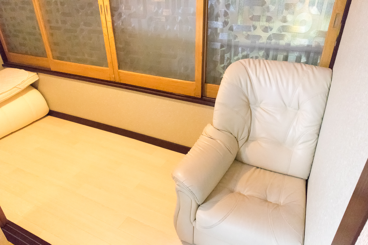ゲストハウスふでむら さくら日和の部屋の奥