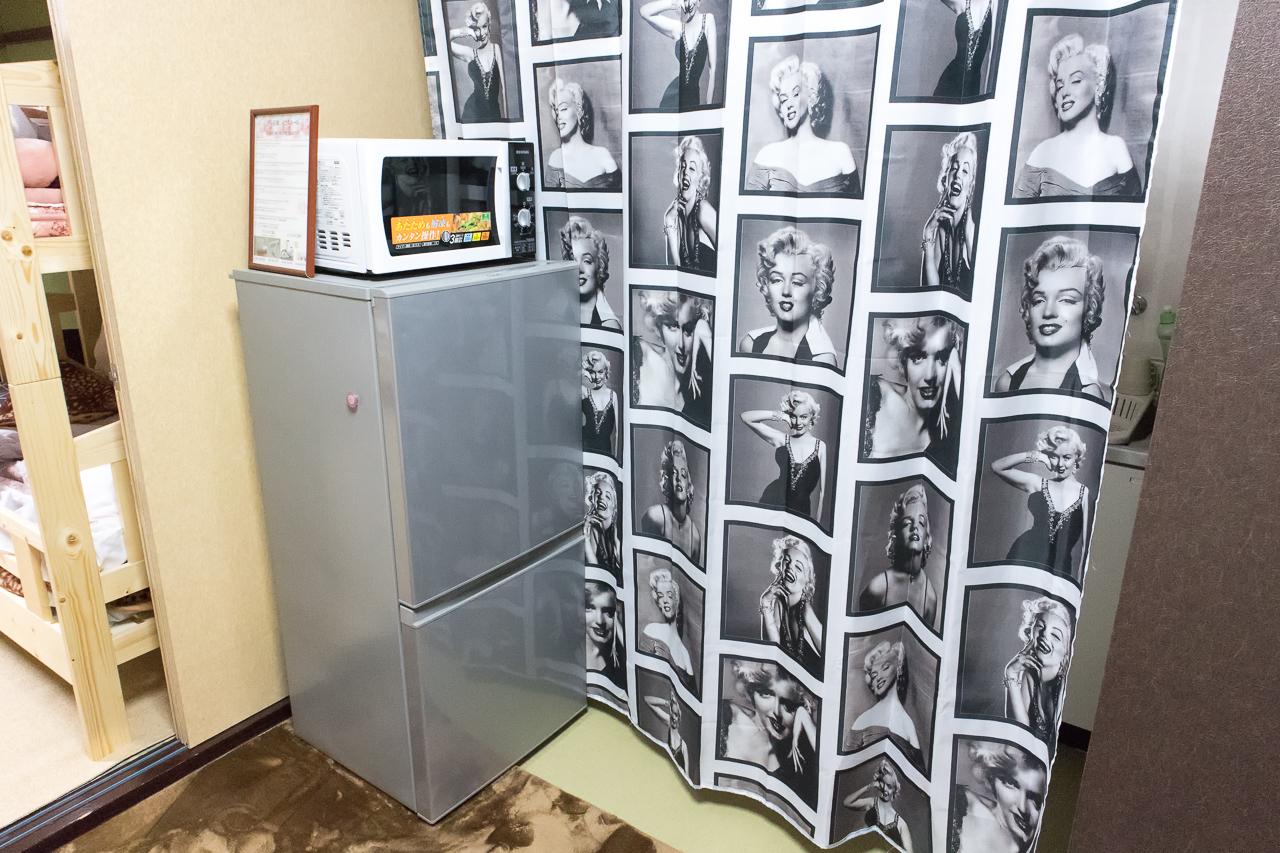 ゲストハウスふでむら さくら日和の冷蔵庫