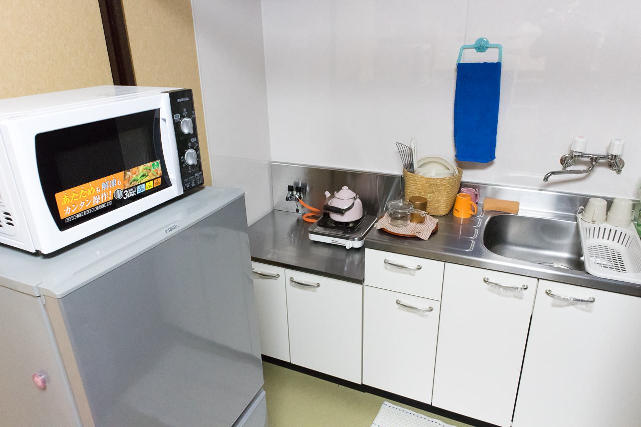 ゲストハウスふでむら さくら日和のキッチン