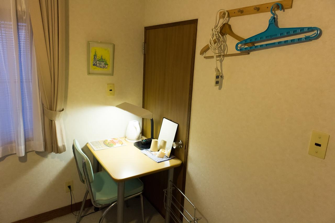 ゲストハウス函館サザン宿泊部屋の備品