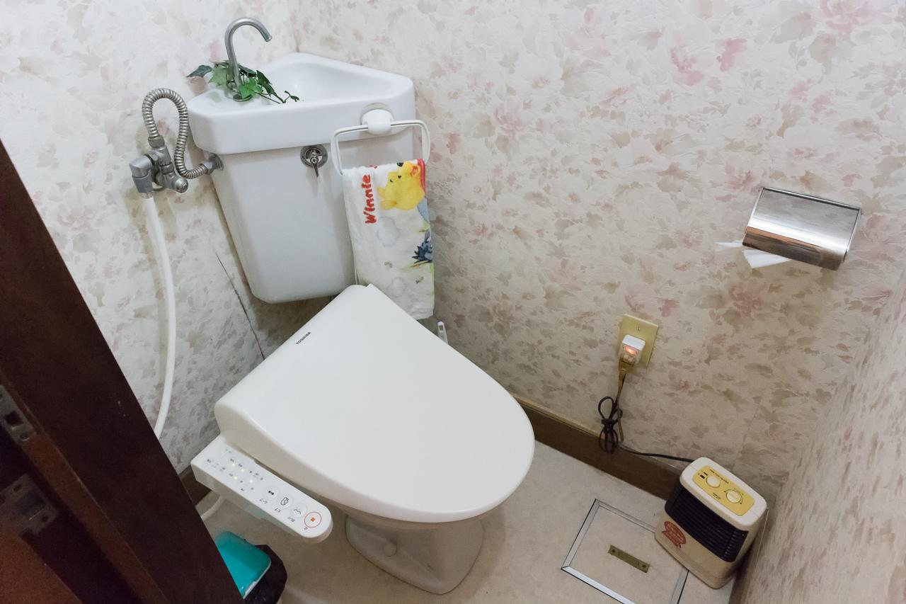 ゲストハウス函館サザンのトイレ