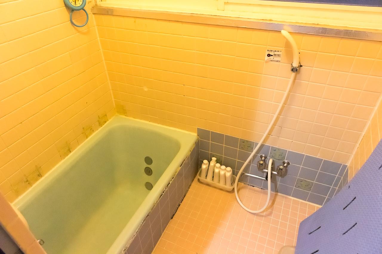 ゲストハウス函館サザンのシャワールーム