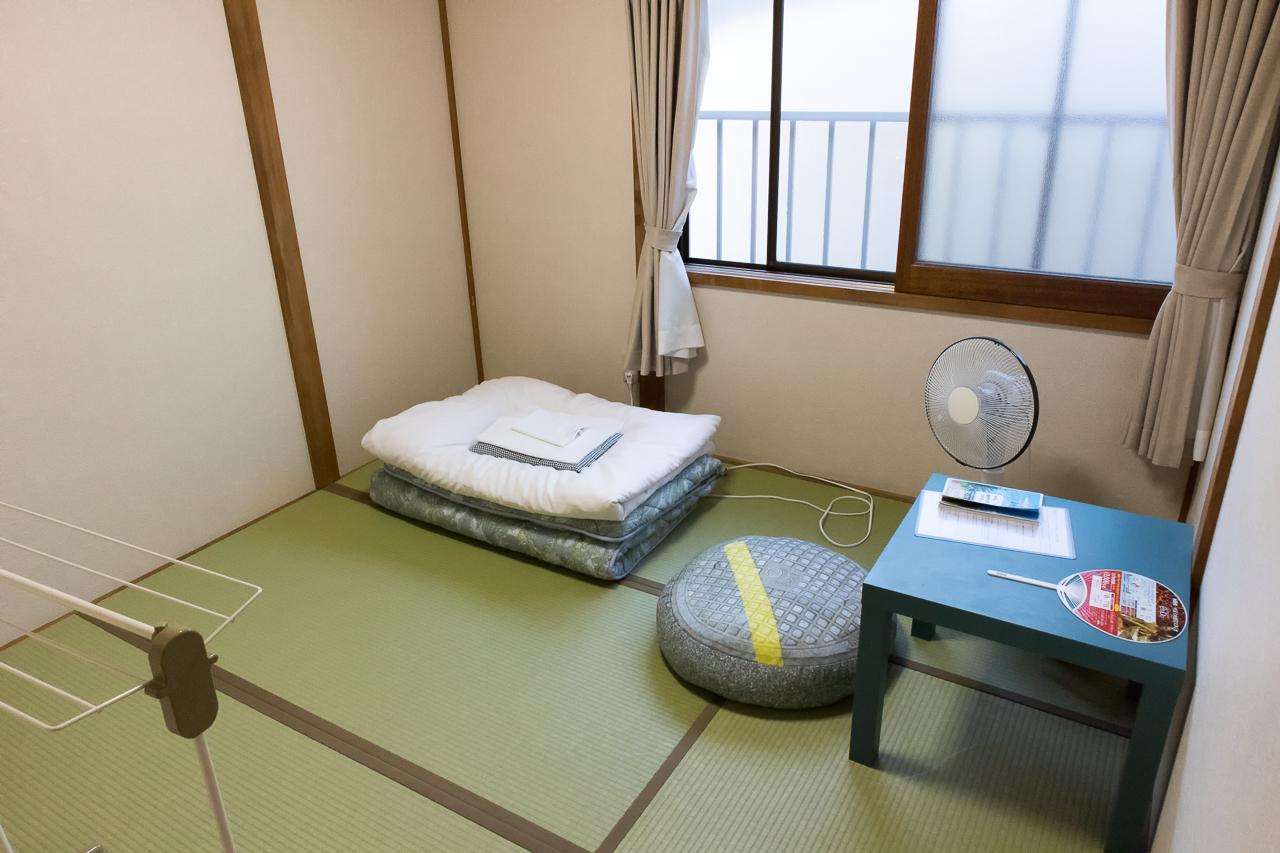 ゲストハウス函館クロスロード1人用の部屋