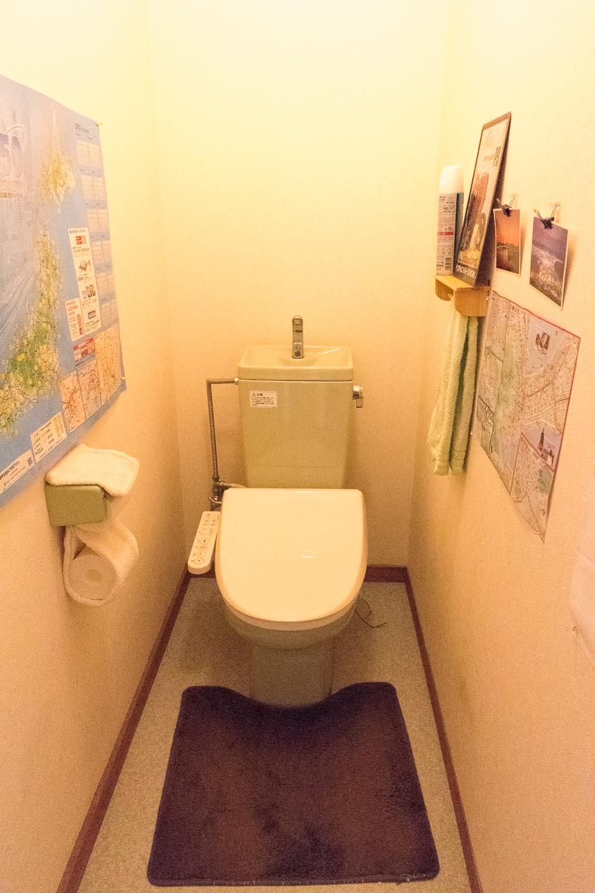 ゲストハウス函館クロスロードのトイレ