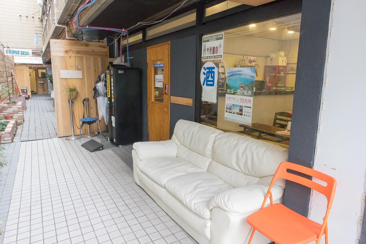 Internal Sophiearth III Hostel入口