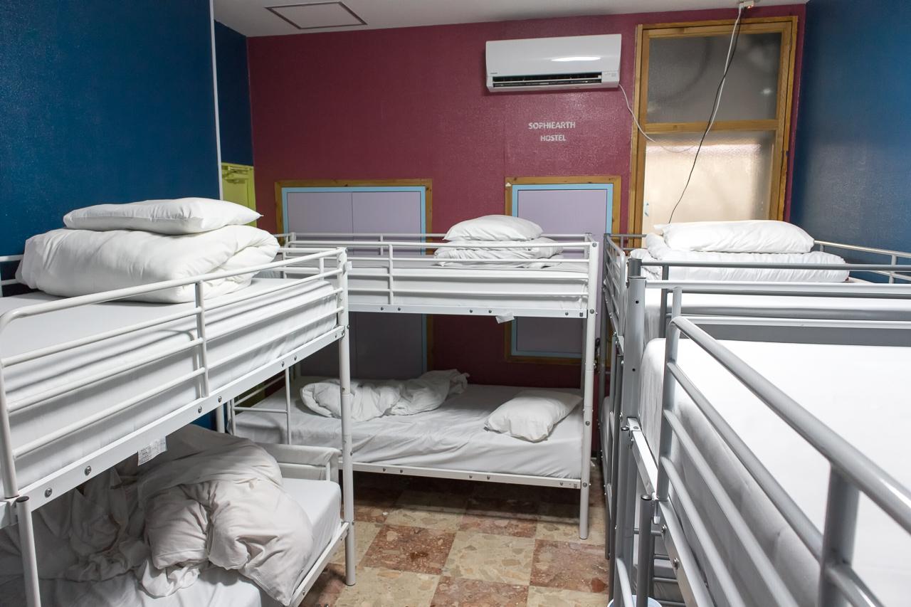 Internal Sophiearth III Hostel部屋の様子