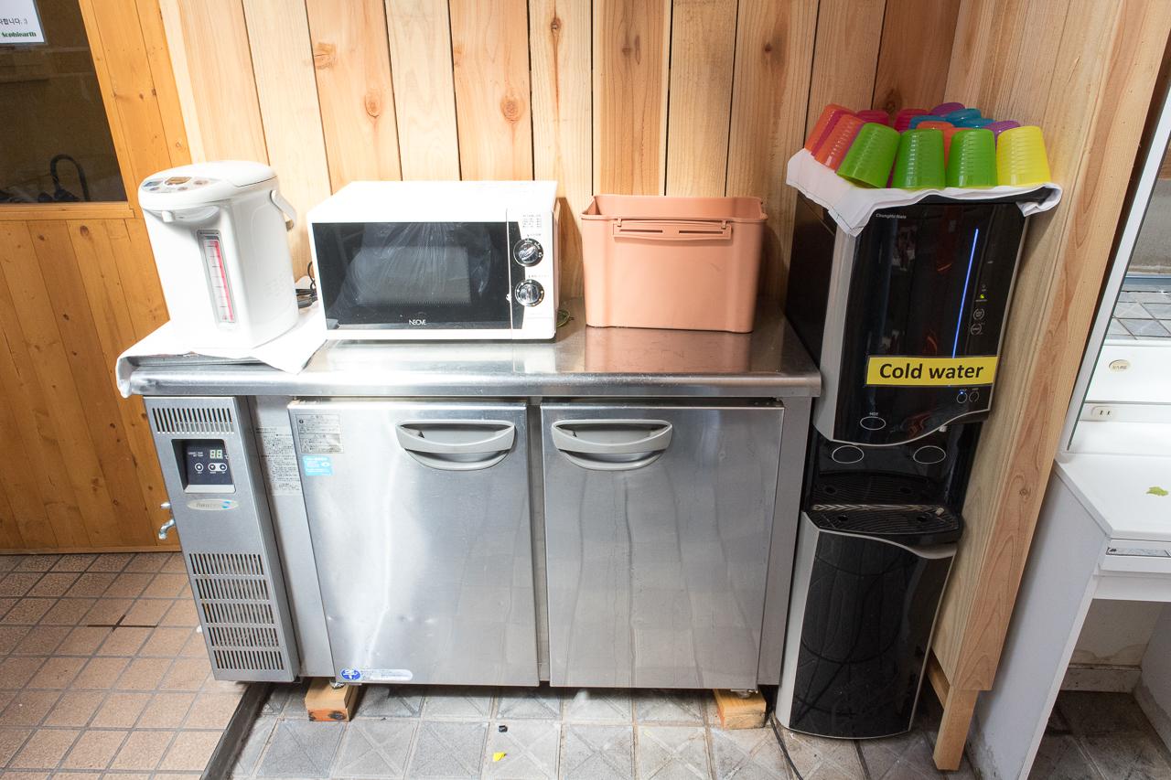 Internal Sophiearth III Hostel共有冷蔵庫