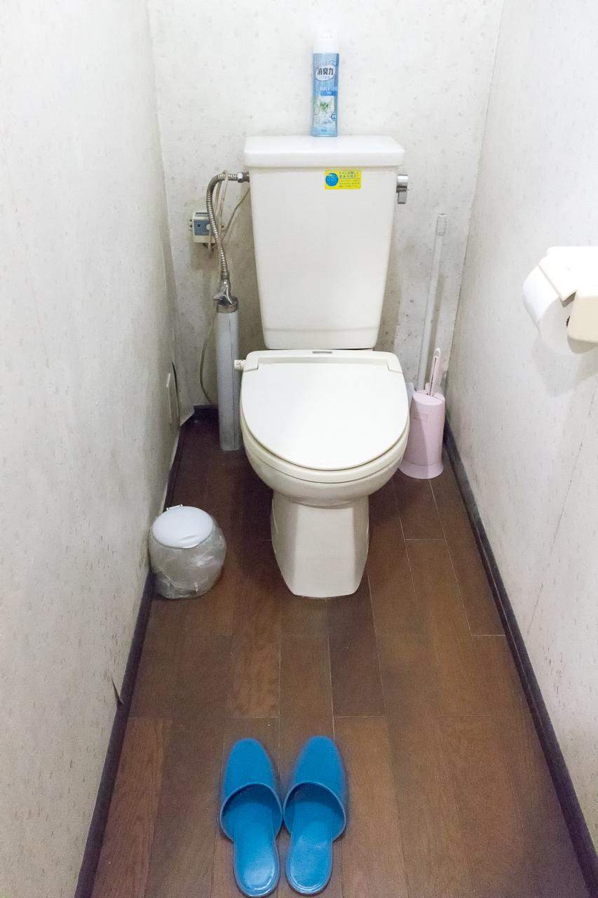 ドミトリーシルシルのトイレ